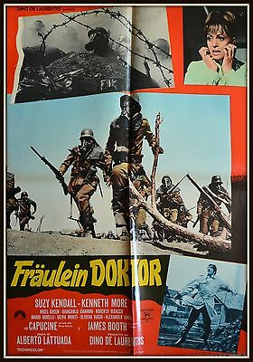 soggettone  FRAULEIN DOKTOR SUZY KENDALL KENNETH MORE LAURENTIS BOOTH CAPUCIN