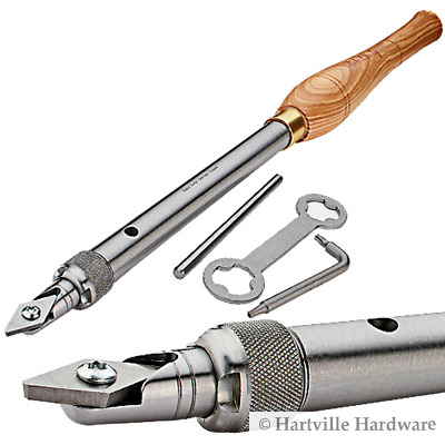 Robert Sorby #RSTM-HCT Turnmaster Handle w/ Detail Point Tungston Carbide Cutter