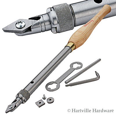 Robert Sorby #RSTM-HCT123 Handled Turnmaster w/ 3 Tungsten Carbide Cutters