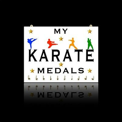My Karate Medals - Martial Arts Sports Medal Hangers & Displays - Male & Female