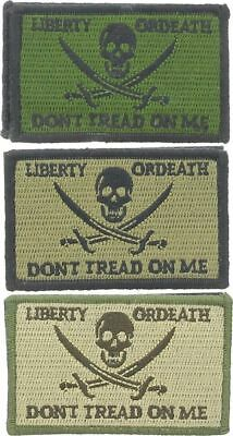 """Calico Jack """"Don't Tread on me"""" Patch, 3"""" x 2"""""""
