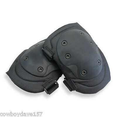 BlackHawk Hellstorm Tactical Knee Pads Black 808300BK  V.2 Authentic