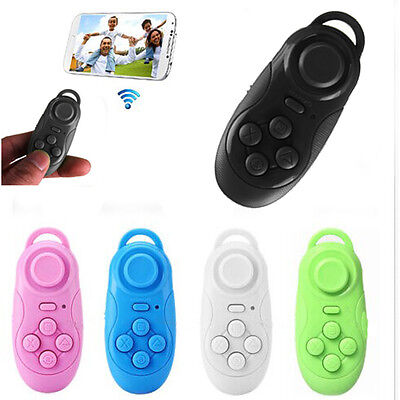 Wireless Bluetooth Selfie Shutter Gamepad Remote Control Mouse For Smartphone CI