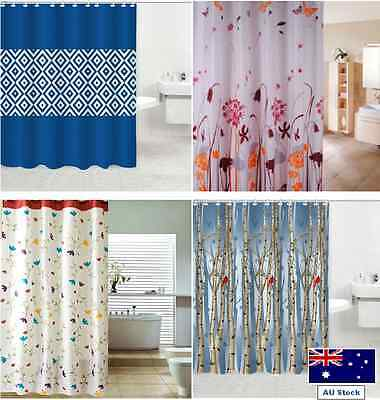 Shower curtain 1.8 m drop long new polyester fabric mildew-free premium quality