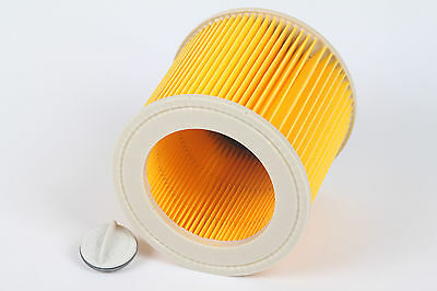 Generic Cartridge Filter For Karcher WD2.200 WD3.500 Wet & Dry Vacuum Cleaners