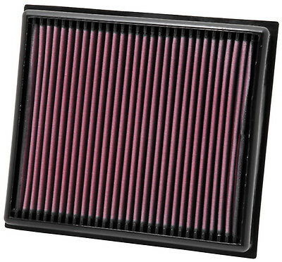 K&N Air Filter Element 33-2962 (Performance Replacement Panel Air Filter)