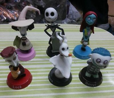 NEW Nightmare Before Christmas Jack and Zero Figures Toy Cute Gift For Xmas 6PCS