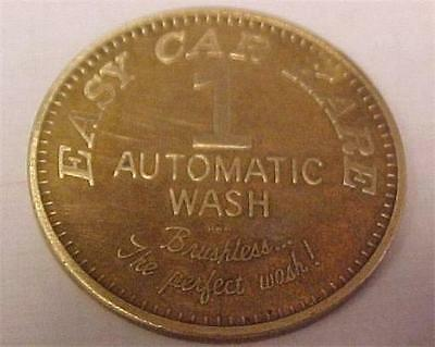 "Car Wash Token-Easy Car Kare ""Good For"" 1 Automatic Wash -13471C"