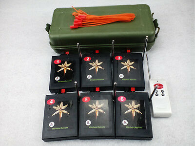 Fireworks Firing system 6Cue Combine learning Smart stage display Safety igniter