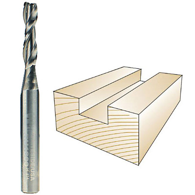 Whiteside #RU1800 Solid Carbide Two Flute Up Cut Standard Spiral Router Bit