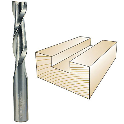Whiteside #RU5200 Solid Carbide Two Flute Up Cut Standard Spiral Router Bit