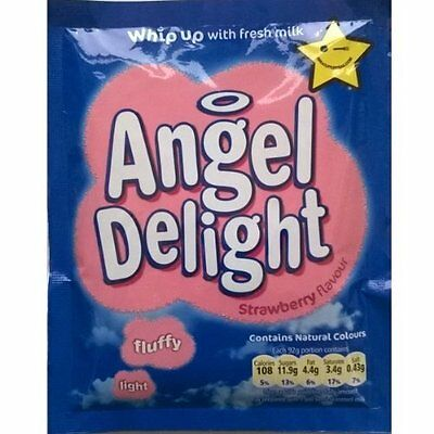 Birds Angel Delight Strawberry Flavour 6 x 59gm