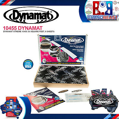 Dynamat Xtreme 9 Sheet Bulk Pack 10455 Extreme Car Audio Sub Road Noise Cancel
