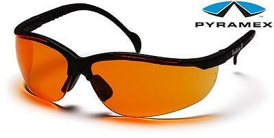 Pyramex Venture II Orange Lens Safety Glasses Sunglasses Z87.1