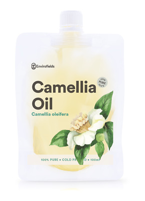 TEA OIL CAMELLIA (Tea Seed Oil)  100% PURE ORGANIC COLD PRESSED - FREE SHIPPING