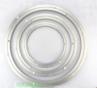 1pc 20'' 500mm Home Hardware Aluminum Round Lazy Susan Bearing Turntable