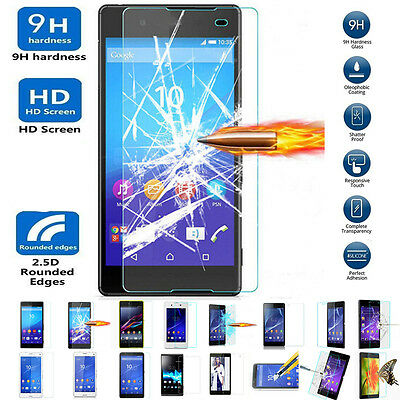 For Sony Experia Xperia Z5 Hit 100% Genuine Tempered Glass Screen Protector Film