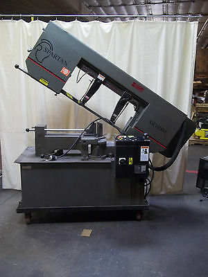 Marval / Spartan Industrial Horizontal Band Saw SW1118M Feed / Coolant