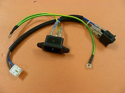Curtis Lcd Tv Power Jack & Switch From Lcd3235A