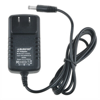 AC Adapter For Craig CTV1703 7 in. LCD TV DVD Player Charger Power Supply Cord