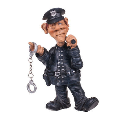Police Officer Funny Figurine Statuette Occupation Warren Stratford