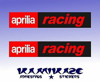Pegatina Sticker Autocollant Adesivi Aufkleber Decal  Aprilia Racing