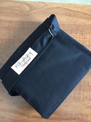 NEW  >NURSING COVER like HOOTER hider* BREASTFEEDING Cover ebony black