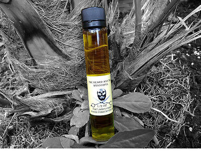 The Beard & The Wonderful, Conditioning Beard Oil Big 25ml Bottle Low Scent
