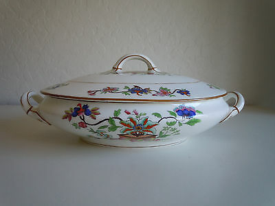 Coalport Flower Pot Oval Covered Vegetable Bowl