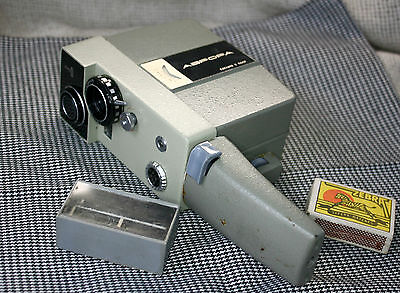 VINTAGE USSR Soviet LOMO AURORA AVRORA Movie Camera with Leather Bag