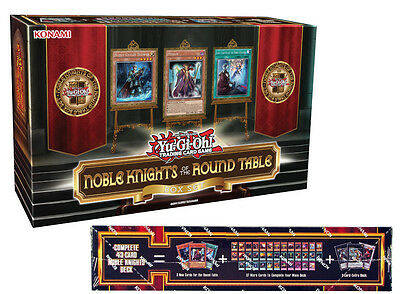 Noble Knights of the Round Table Box set | Yugioh Card inc. Deck Booster & MORE!