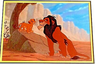 Disney ,The Lion King, Original lim. Edition Animation Art Cel