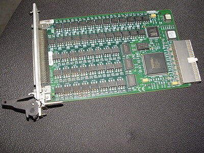 National Instruments PXI-6527 channel-to-channel isolated digital I/O card