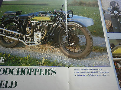 Royal Enfield Vee Twin 1927 # Vintage Motorcycle Picture # 4 Pages
