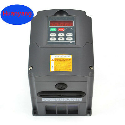 High Quality 3Kw 4Hp 13A 220V   Variable Frequency Drive Inverter Vfd