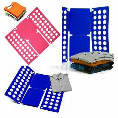 New Magic Folding Board Flip Fold Adult Clothes T Shirt Top Laundry Organizer