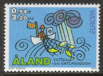 Aland Mnh 2001 Sg201 Europa: Water Resources