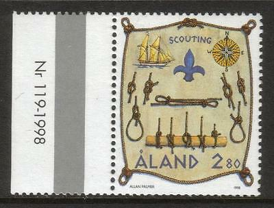 Aland Mnh 1998 Sg140 9Th International Sea Scout Camp