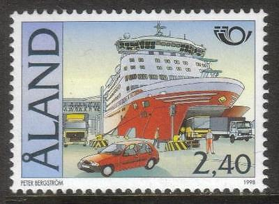 Aland Mnh 1998 Sg137 Nordic Countries Postal Cooperation - Tourism