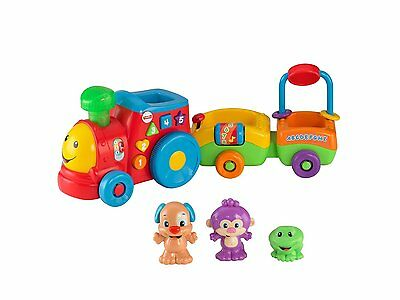 Fisher Price Laugh & Learn Puppy's Smart Train Kids Learning Toy 3 Levels
