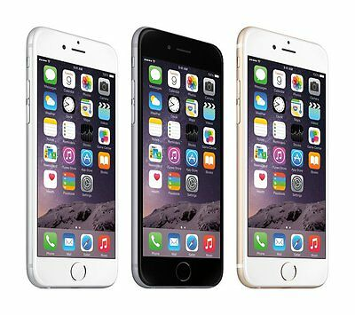 Apple iPhone 6 16GB 64GB 128GB AT&T 4G LTE Smartphone Silver Space Gray Gold