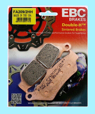 EBC FA209HH Sintered Rear Brake pads for BMW R R1200 GS   2013 to 2015