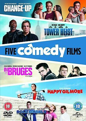 The Change-up/Tower Heist/Happy Gilmore/In Bruges/Role Models [DVD]