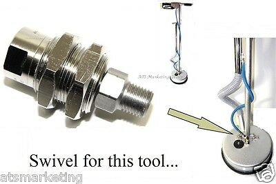 Carpet Cleaning - Swivel Replacement for Tile & Grout Tool