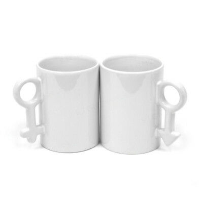 Sublimation Lovers Mugs 10oz Couples Valentine Gift Heat Press Printing Transfer
