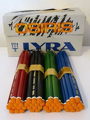 12 x LYRA ARTIST SKETCHING DRAWING LEAD GRAPHITE HEXAGONAL PENCILS 916 HB Grade