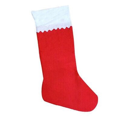 Huge Jumbo Large 90cm Red Christmas Felt Stocking