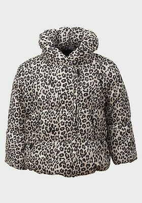 Baby Girls Leopard Winter Padded Jacket Coat Age 0-3 3-6 6-9 9-12 12-18 18-24
