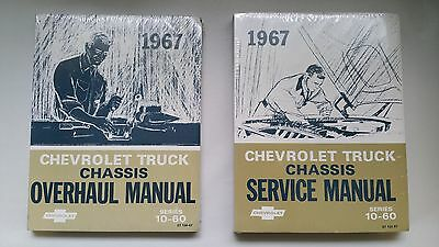 1967 Chevrolet Truck Chassis Overhaul & Service Manual Series 10-60