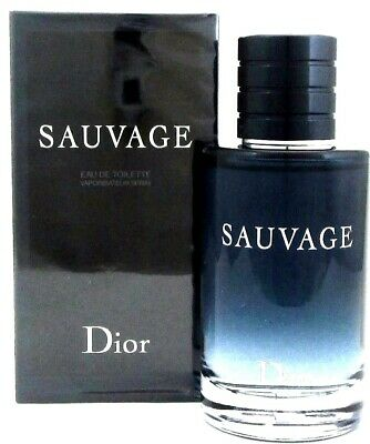 Dior Sauvage By Christian Dior 3.4 oz/100 ml EDT Spray for Men New In Box
